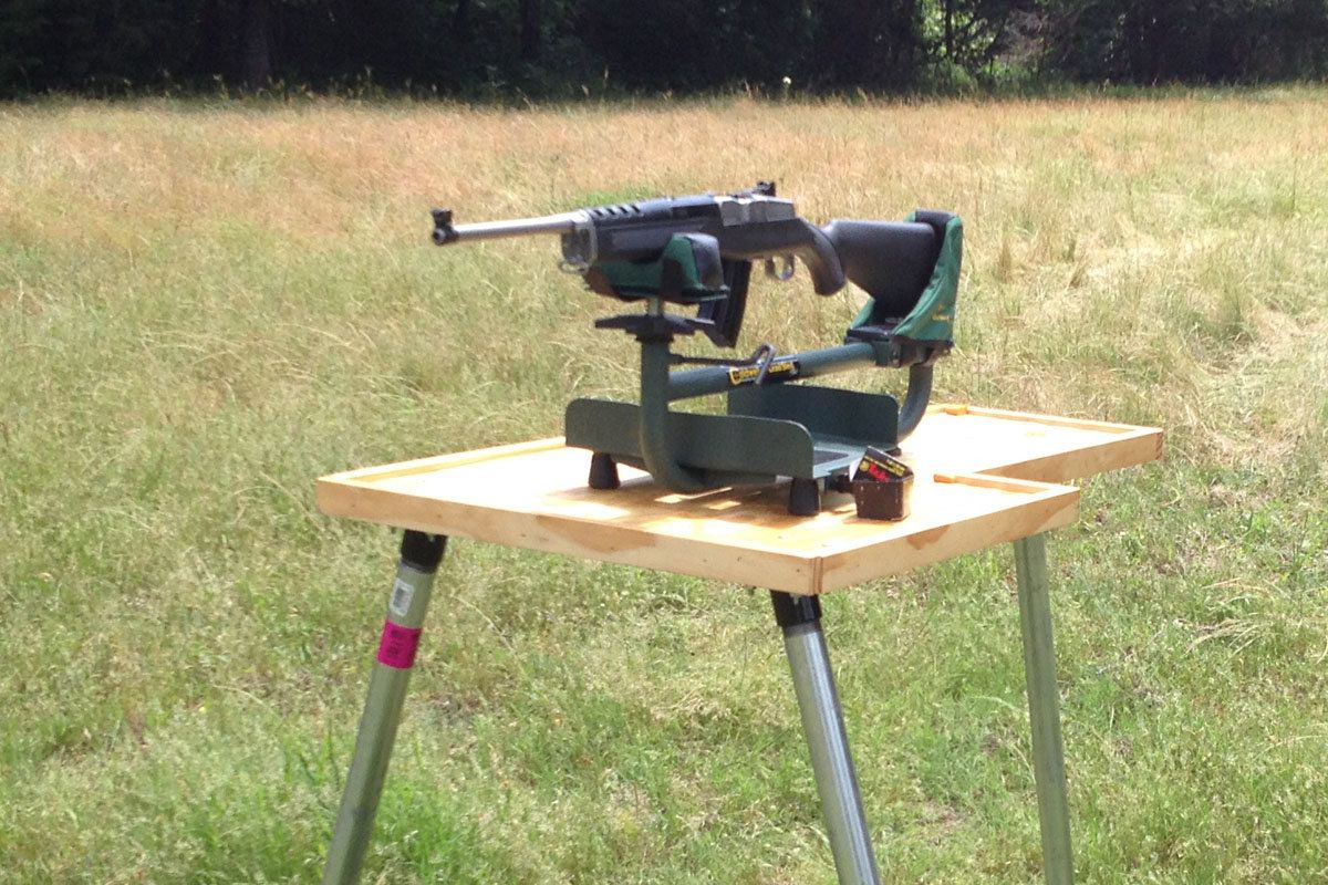 Stukeys Sturdy Shooting Bench Part - 20: Looking For An Easy Do-it-yourself Shooting Bench That Comes In Under $100