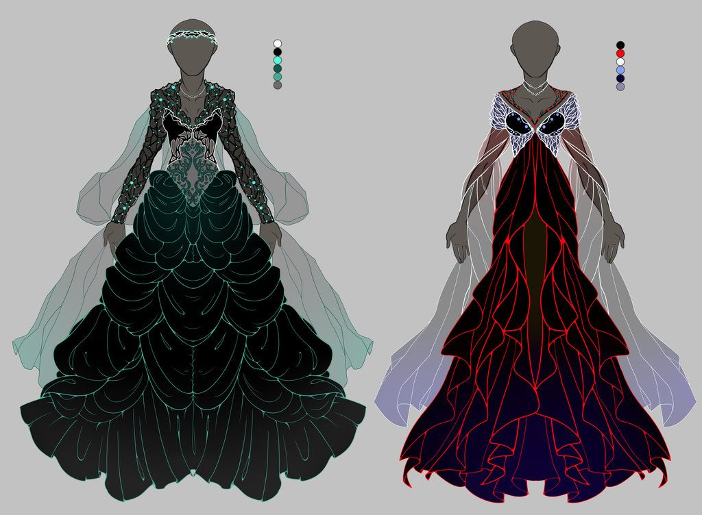 Dress References Clothes design, Anime outfits, Fantasy