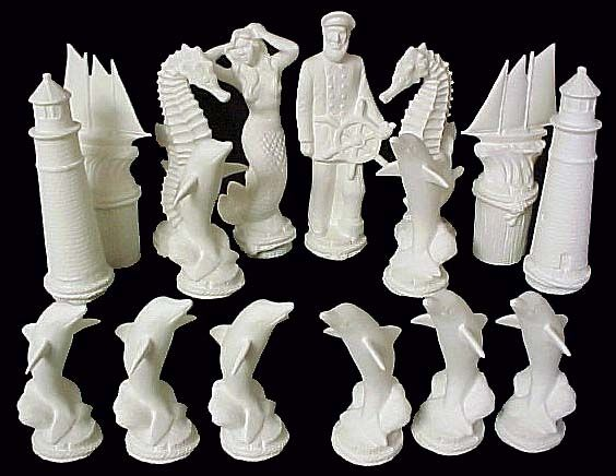 564 436 pixels ceramic chess set nautical pottery inspiration pinterest chess - Ceramic chess sets for sale ...