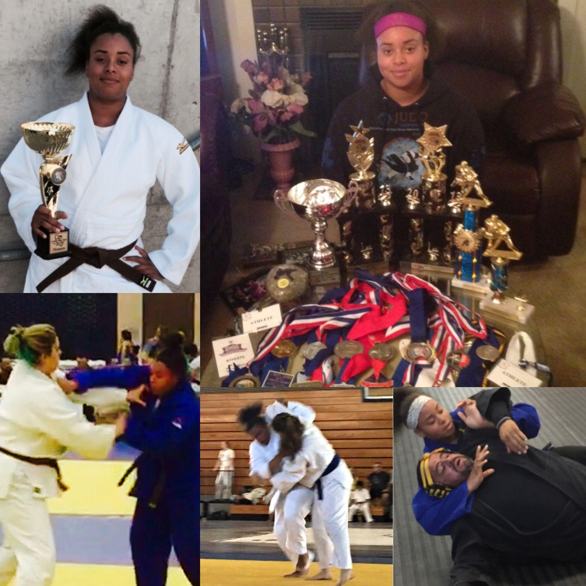 Nationally ranked judo player soon to be international hopeful. She