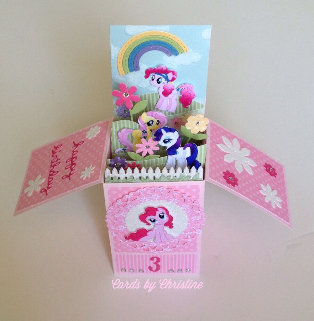 My Little Pony Birthday Girl Card Sweetie Pie