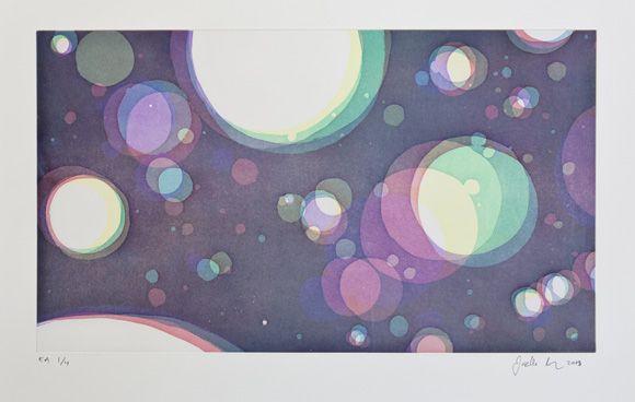 maisema 2009, akvatinta, 20kpl editio, 37 x 64 cm