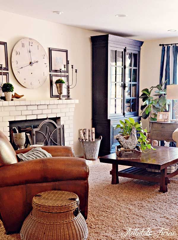 Cozy Casual Decorating Style: Eclectic Home Tour - Tidbits And Twine