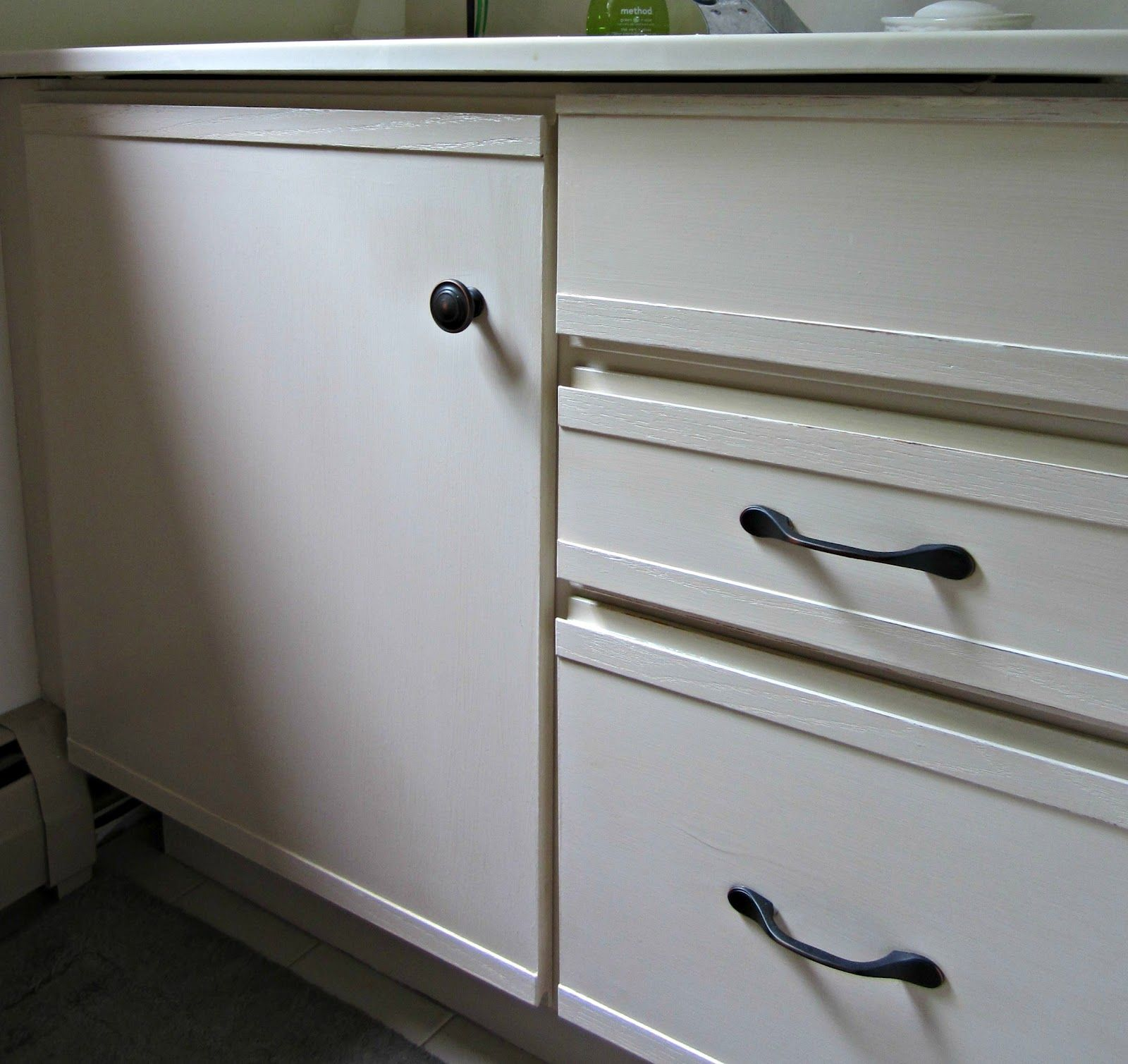 painting laminate cabinets | For the Home | Pinterest