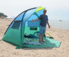 Beach tent & Eureka Solar Shade beach tent...int ht. of 5u00279