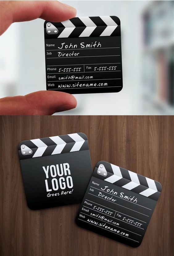 Director Mini Squared Business Card Graphicriver Item For