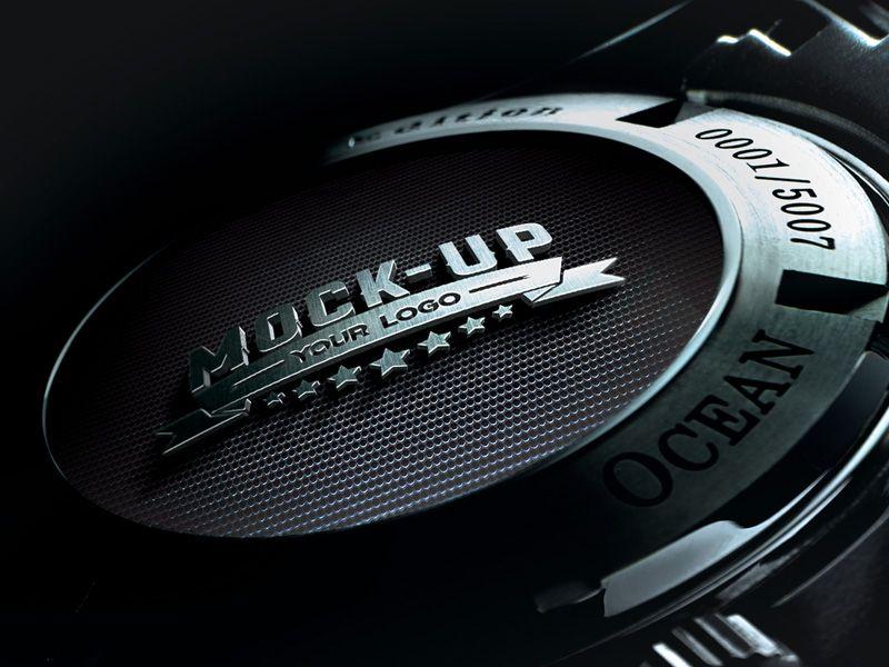 Digital Dj Mixer Mockup Free Psd Logo Nasa Galo