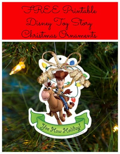 Free Printable Disney Toy Story Christmas Ornaments Disney Christmas Crafts Disney Christmas Ornaments Disney Ornaments Diy