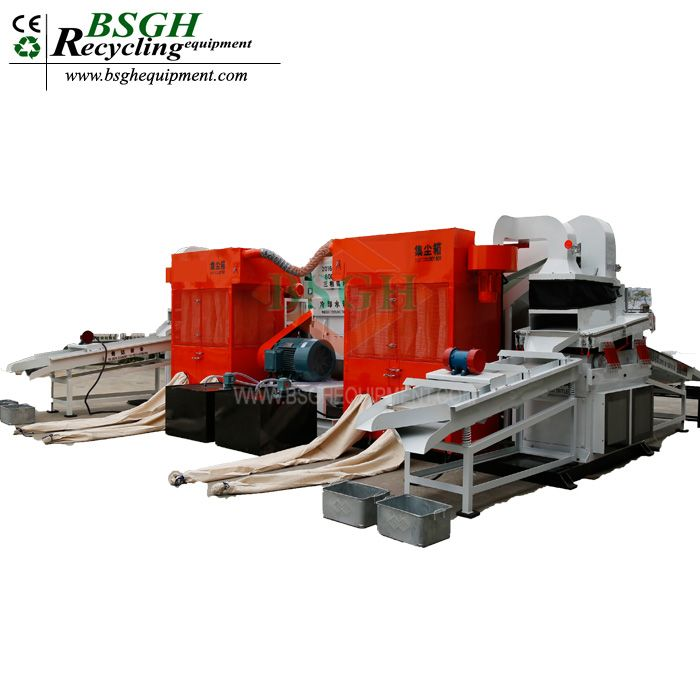 HIGH QUALITY SCRAP WIRE CABLE GRANULATOR PLANT CABLE