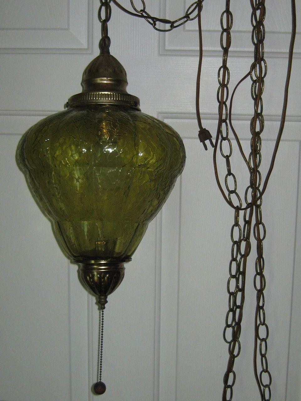 Vintage hanging swag lamp 60 hanging lamps vintage lamps