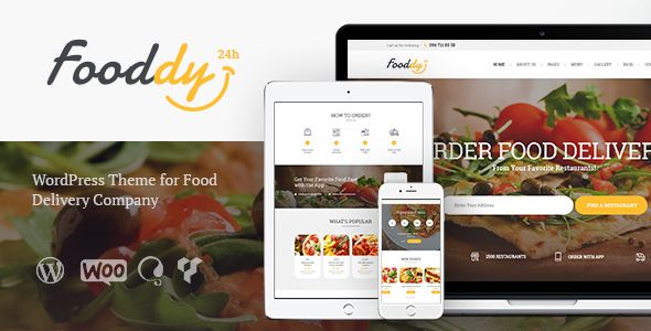 Fooddy 24/7 - Food Ordering & Delivery Theme