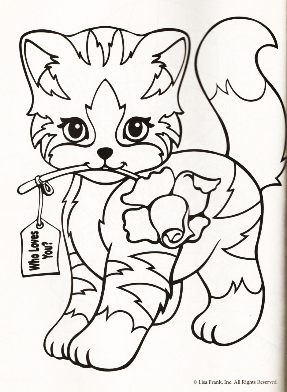 Color Me Lisa Frank Coloring Books Unicorn Coloring Pages Coloring Pages [ 1280 x 938 Pixel ]