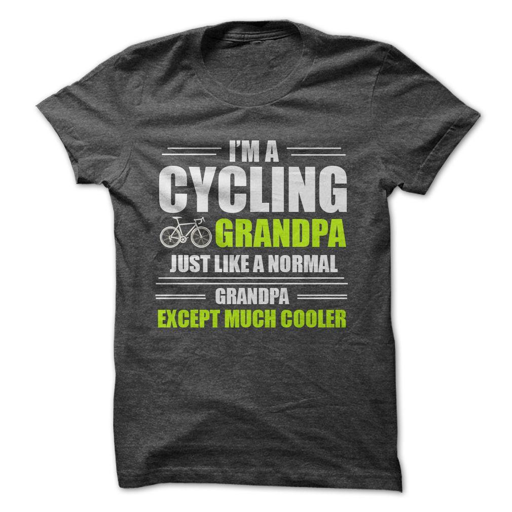 c6d12c0b5 Custom Cycling Grandpa T-shirt | Grandma birthday gift ideas Father &  grandpa and Christmas gifts ideas for grandparents #grandpa #grandfather,  ...