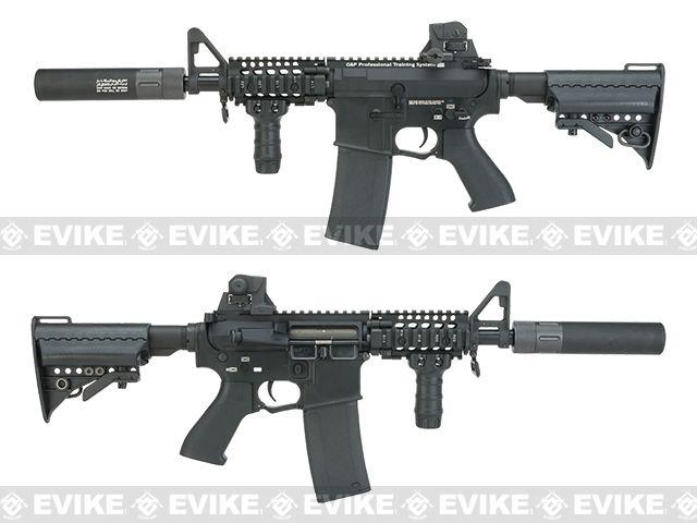 Evike com G&P Rapid Fire II Airsoft AEG Rifle w/ QD Barrel