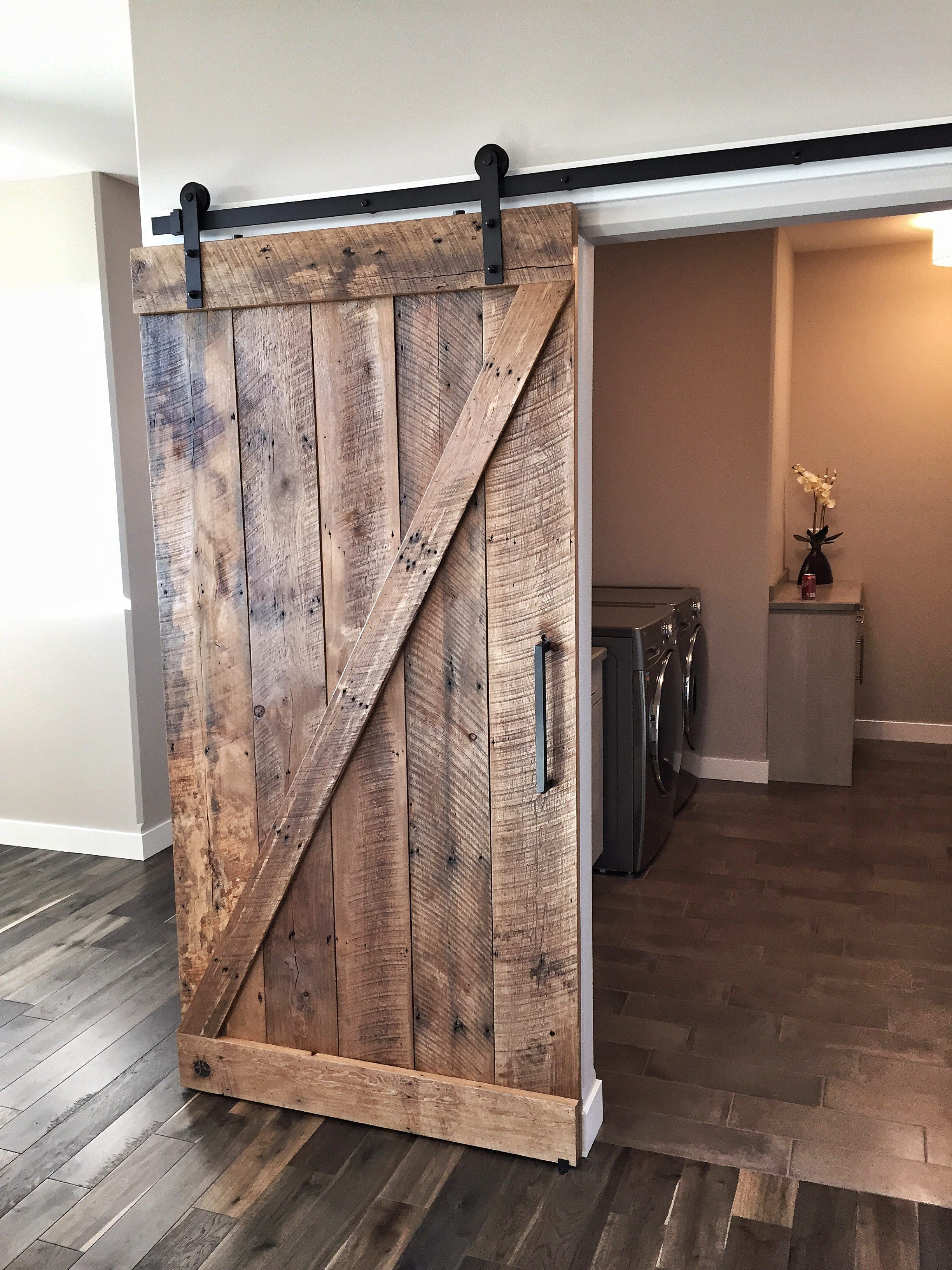 Image result for double x reclaimed wood barn doors | New House ...