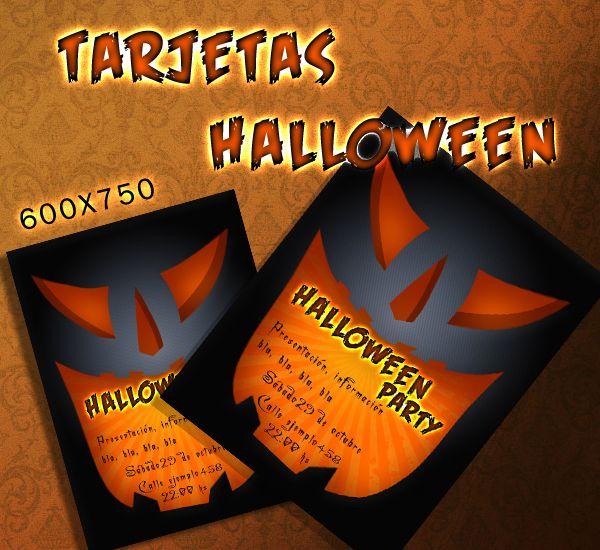 Diseño de Tarjeta o Poster para Halloween