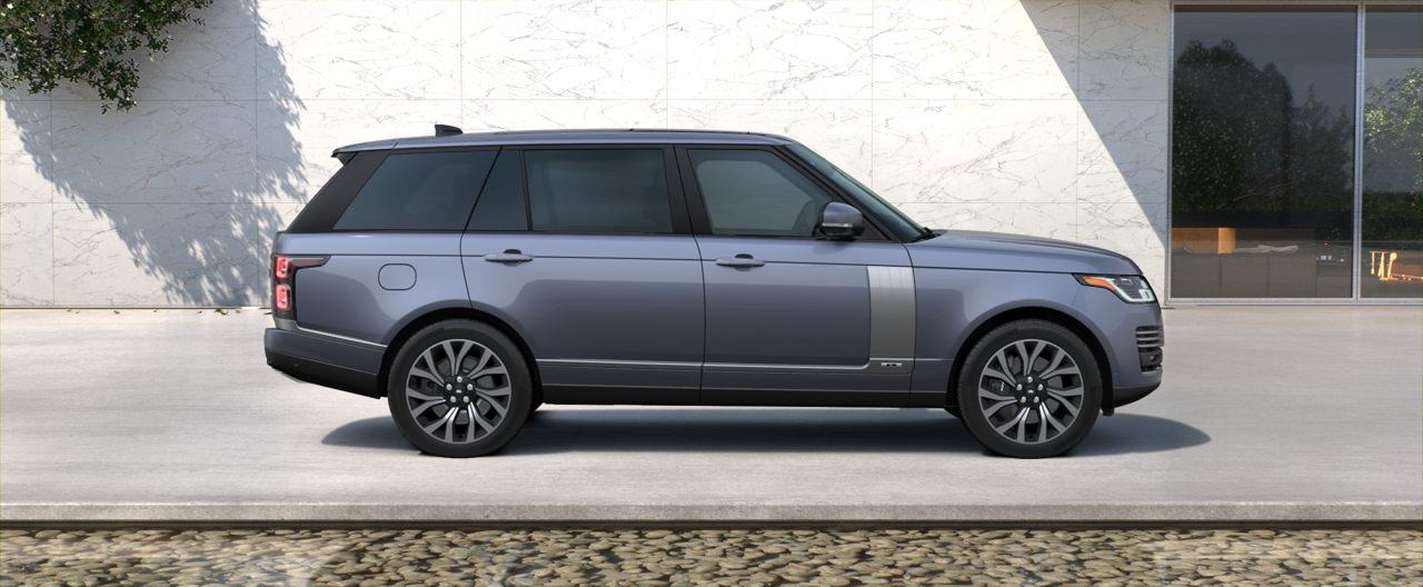 2018 Range Rover V8 Supercharged Autobiography Long Wheelbase Land Rover Range Rover Rear View Camera