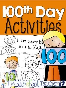 FREE today only! 100th Day Activity Pack - This pack of quick 100th Day printables are the perfect addition to your 100th Day class celebration!