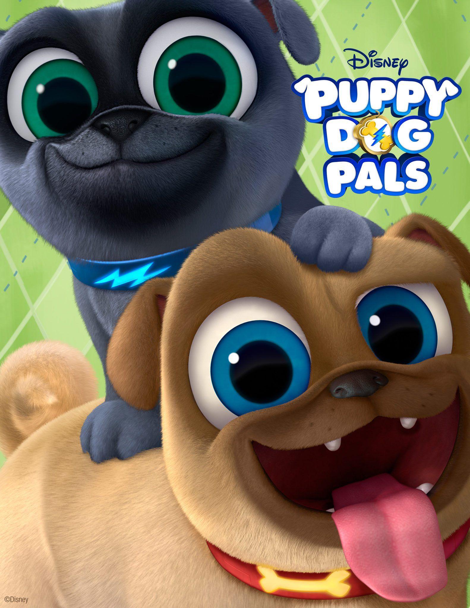 Disneyjunior S Puppy Dog Pals Embark On A Thrill Seeking