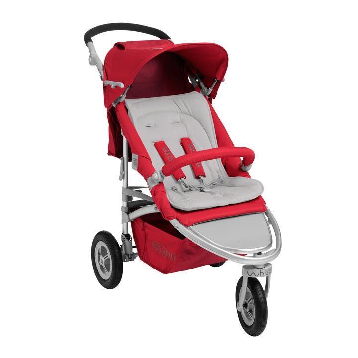 Whizz® La poussette 3 roues compacte | Site officiel RED CASTLE