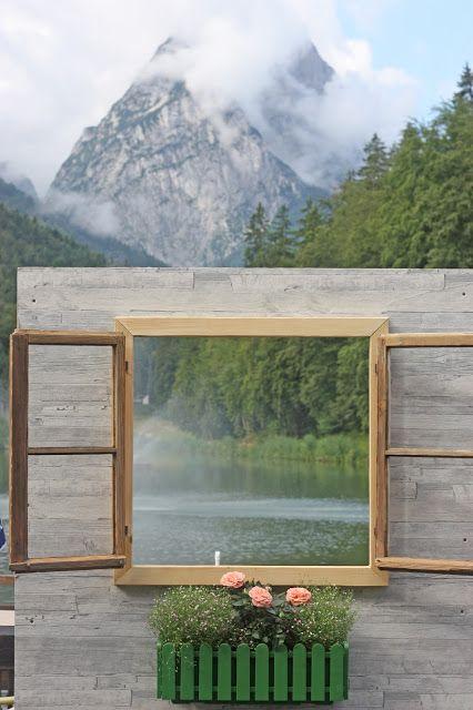 Vintage-Hochzeit im Sommer im Riessersee Hotel Garmisch-Partenkirchen, Bayern - Vintage wedding in Germany, Bavaria, lake &…
