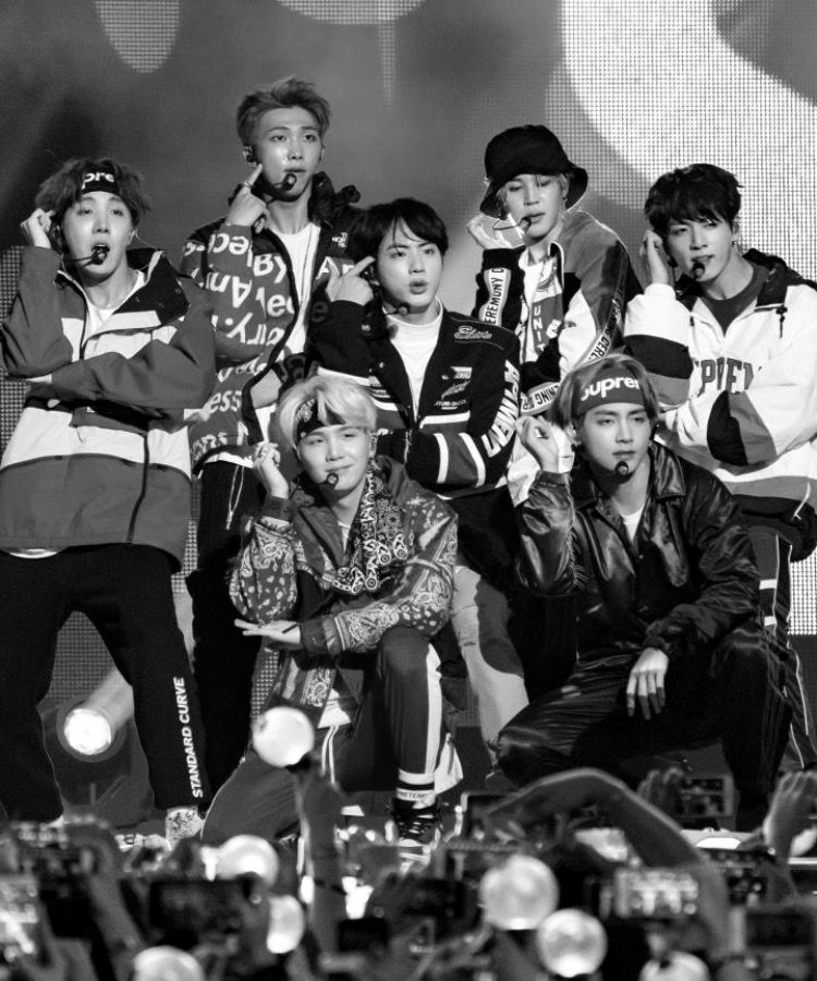 Bts Black And White Bts Blackandwhite Bts Black And White Bts Black Aesthetic Bts Black Black and white bts wallpapers
