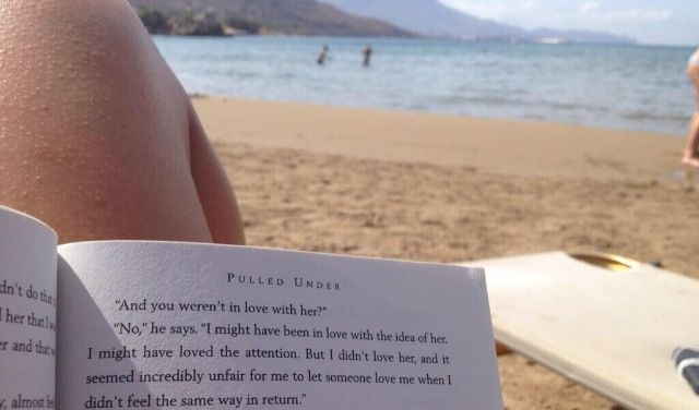 """""""And you weren't in love with her?""""- Pulled Under. Want to read now because of this excerpt."""
