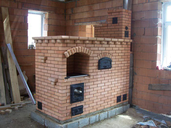 Build your own masonry cook stove russian wood stoves for How to make a stove