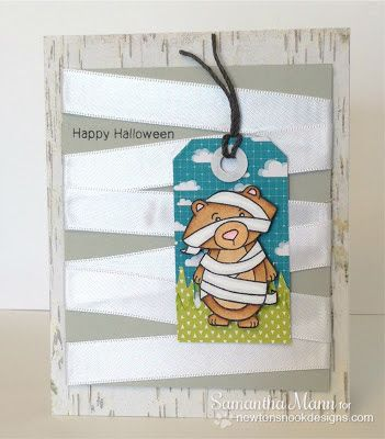 Mummy Bear card by Samantha Mann using Boo Crew