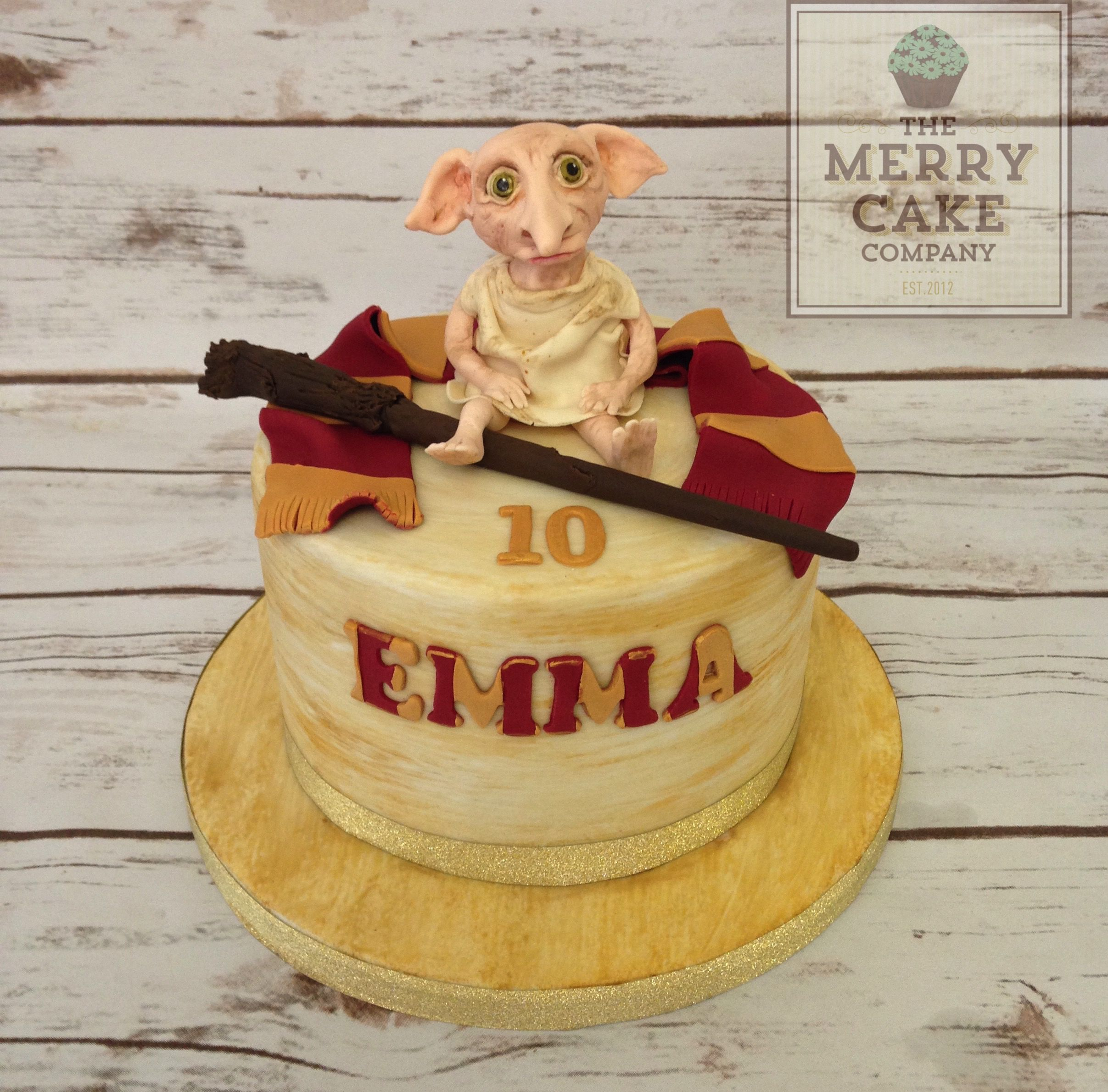 dobby cake harry potter cake wand gryffindor fondant pinterest harry potter cake. Black Bedroom Furniture Sets. Home Design Ideas