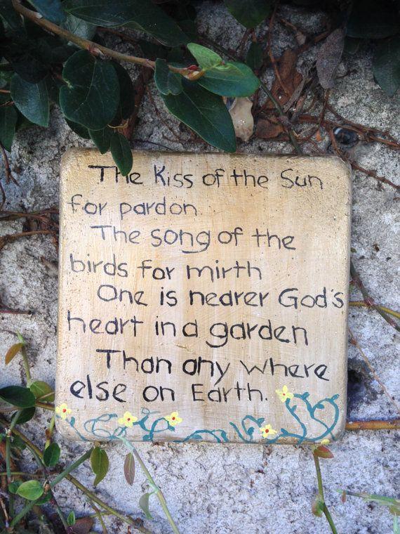 God S Garden The Kiss Of The Sun For Pardon The Song Of The Birds