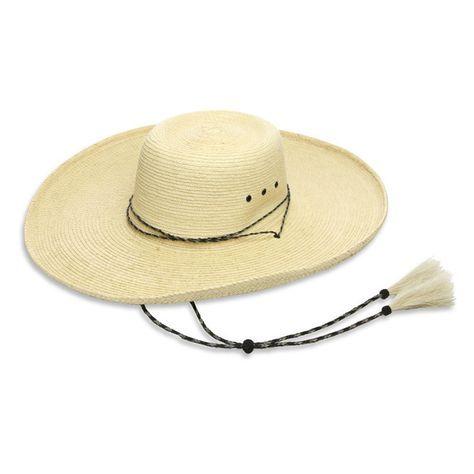 2c299be61dd Vaquero Style Palm Leaf Hat