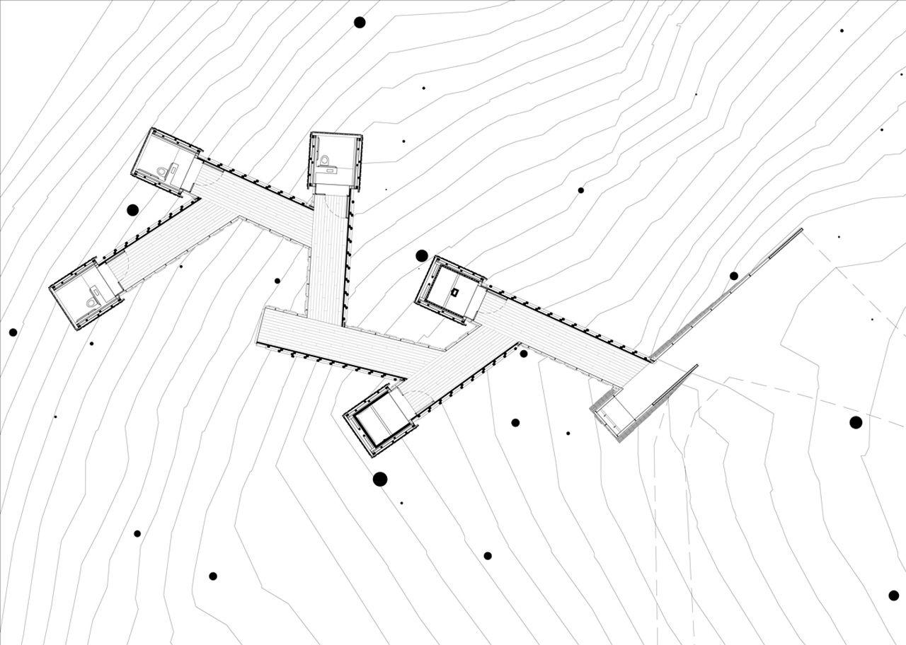 rural studio thinnings bathhouse plans pinterest architecture