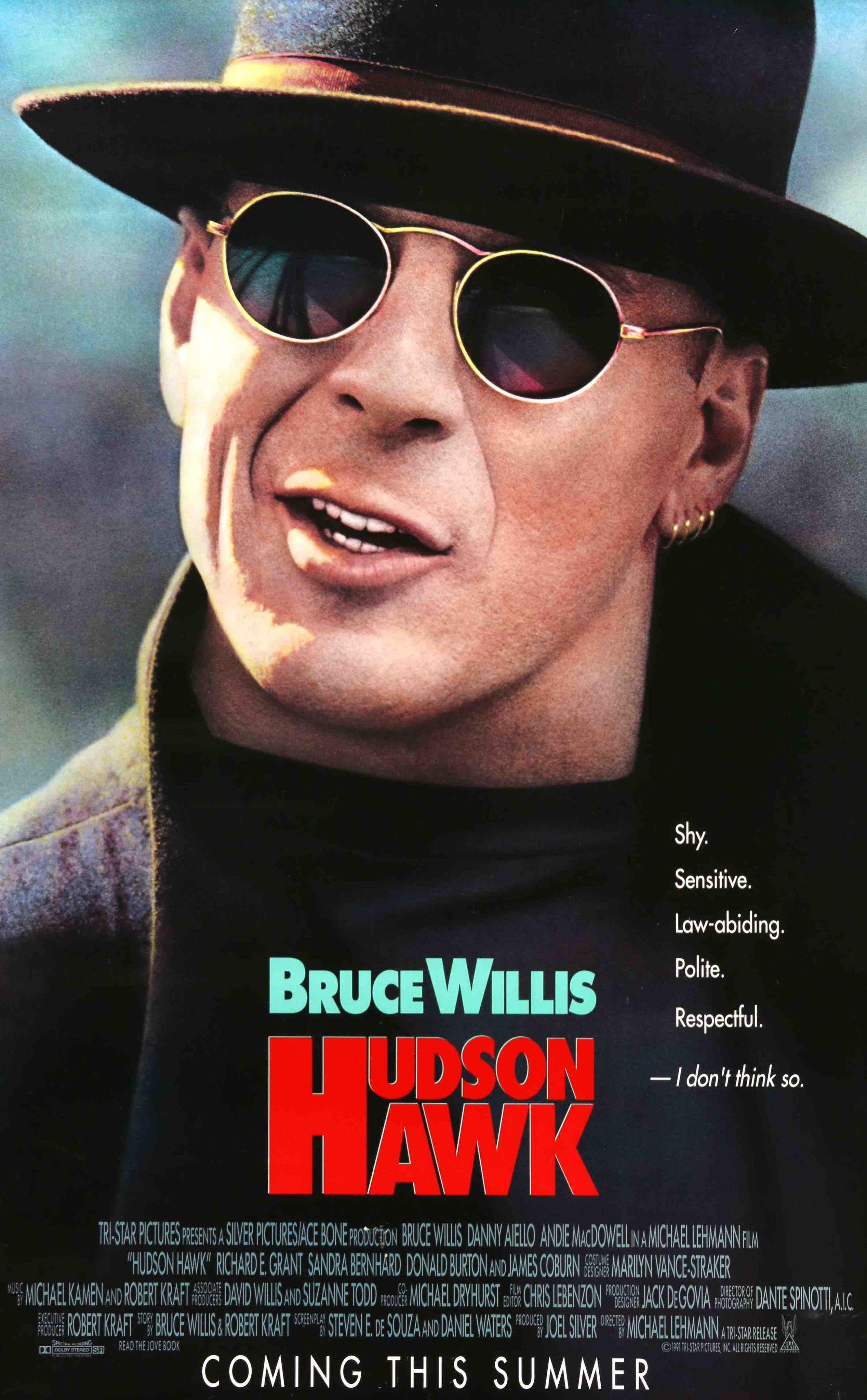 Hudson Hawk 1991 Cartazes De Filmes Cartaz De Filme E Cinema