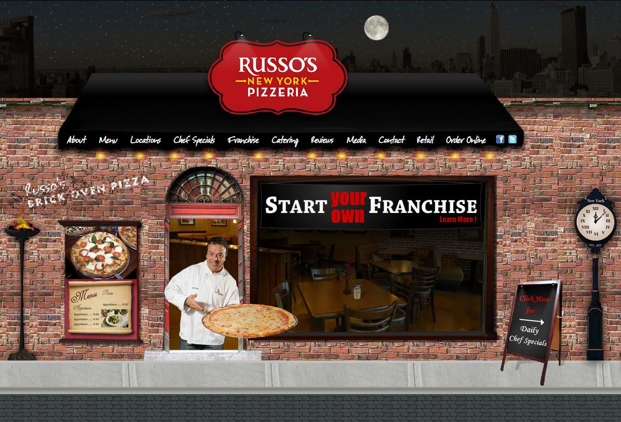 new york pizzeria | pizza franchise russo's | sochi biz starter