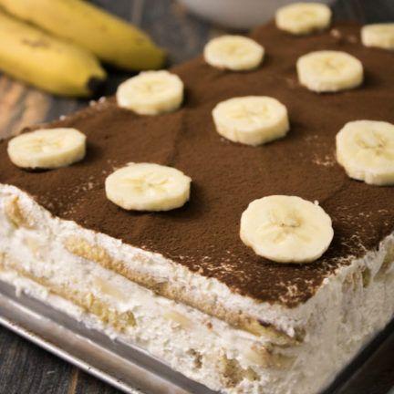 heute gibt es... Bananen-Tiramisù