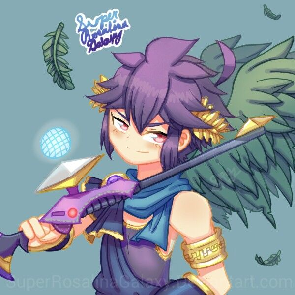 Pin By Dw On Kid Icarus Dark Pit And