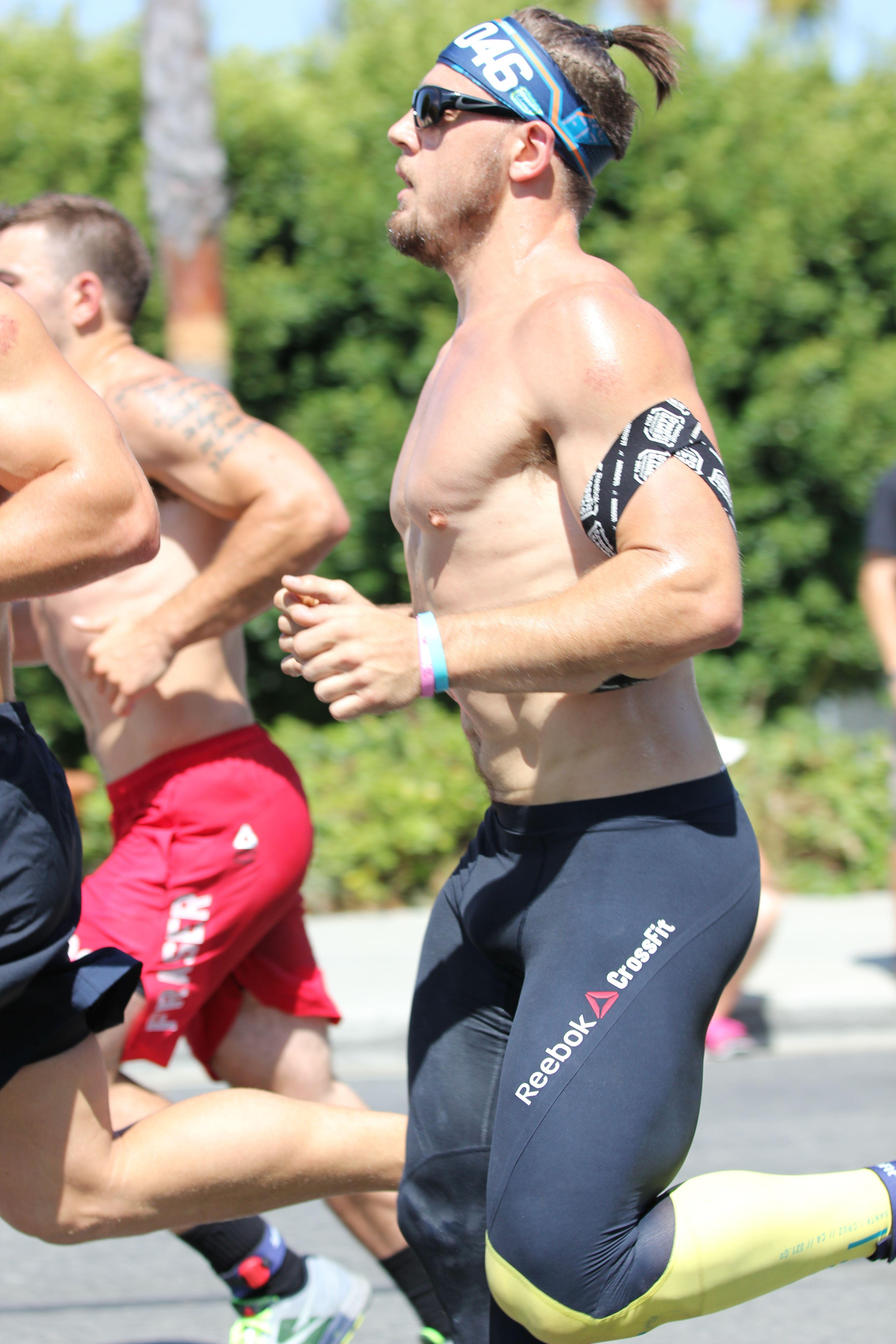 Running CrossFit Games 2014 Crossfit athletes