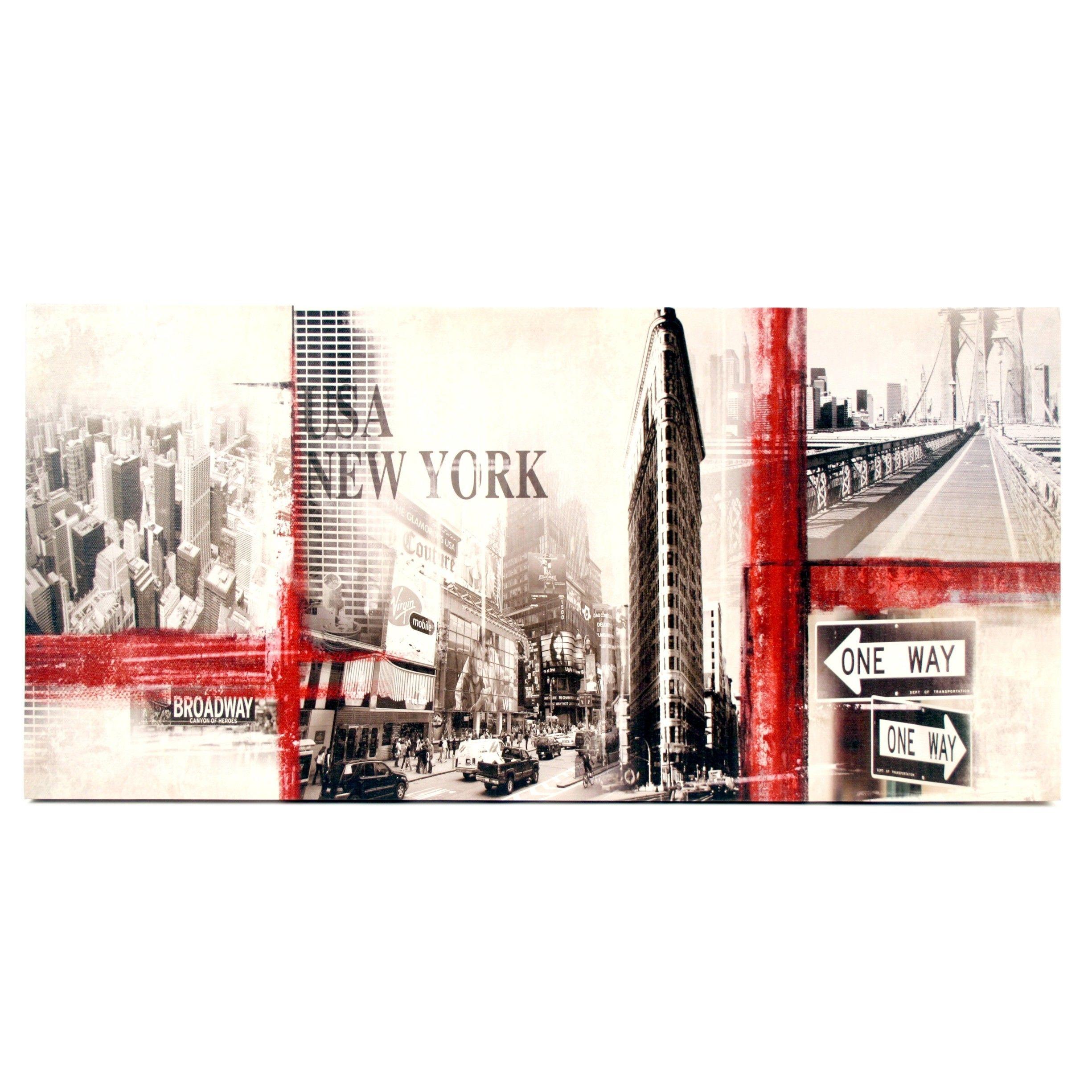 canvas new york skyline stijlvolle amp betaalbare