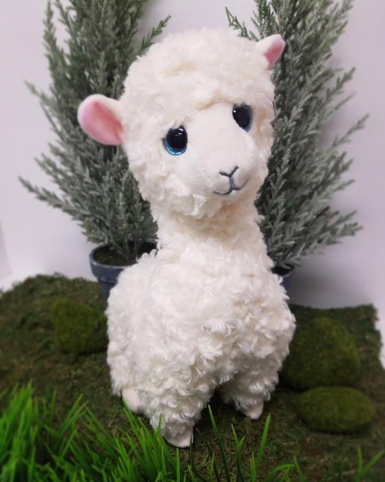 3a7cf9db0bc Ty Beanie Boo Medium Lily the Llama Plush Toy