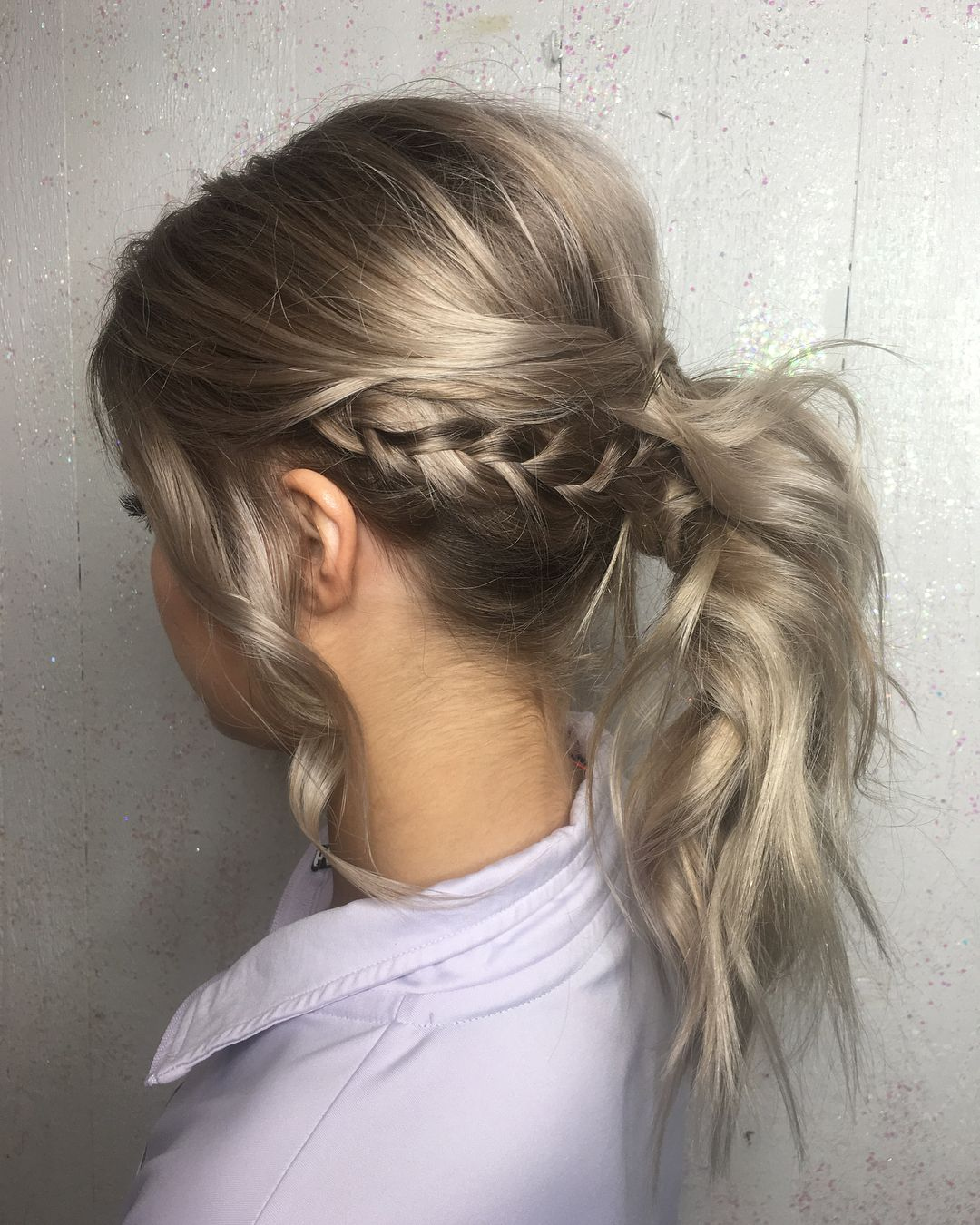 Prom hairud color also by me updo promhair heathstylist