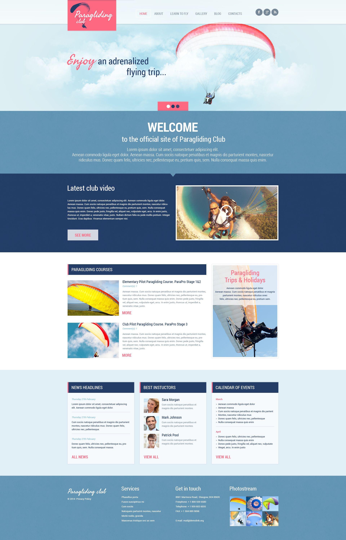 Paragliding Wordpress Theme