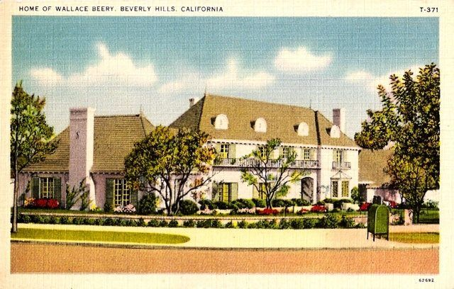 Wallace Beery home