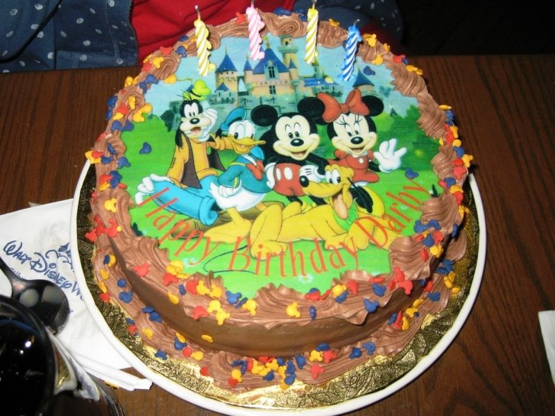 Brilliant Pictures Of Cakes From Disney World Torte Compleanno Funny Birthday Cards Online Barepcheapnameinfo