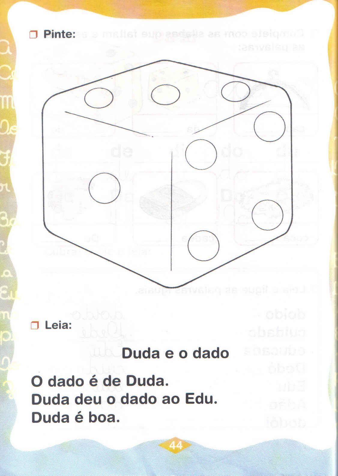 Melhores Atividades Com As Silabas Da De Di Do Du Jpg 1126 1583