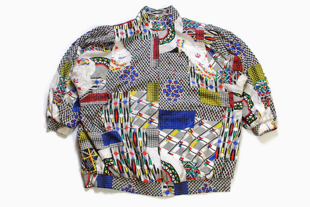 Vintage GIVENCHY ENPLUS track jacket Bomber authentic