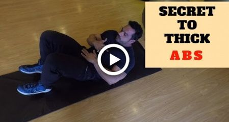 How to get thick Abs !! The correct way. #fitness