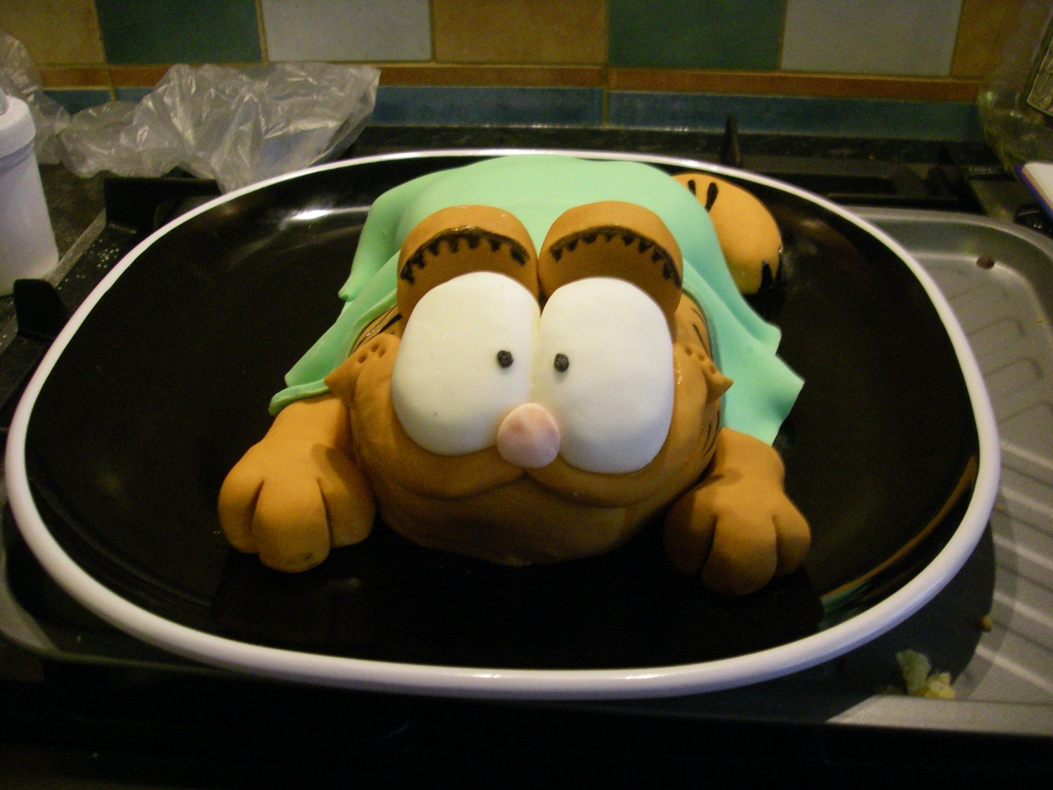 Garfield - inspired by Debbie Brown