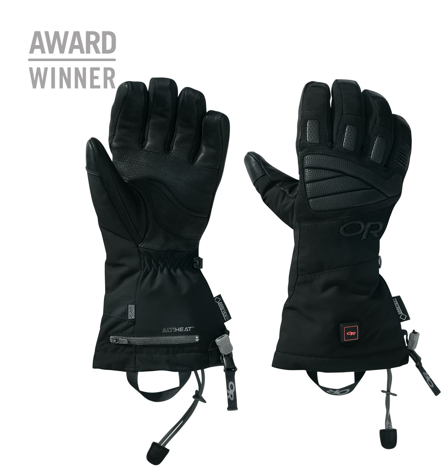 Lucent Heated Gloves™ Outdoor Research WARM HANDS WITH
