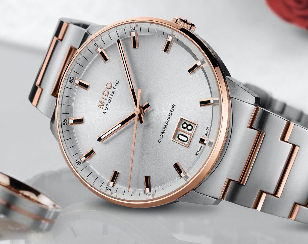 9015f6efcd9 TimeZone   Industry News » N E W M o d e l - Mido Commander Big Date ...